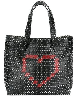 Hearts And Studs Tote