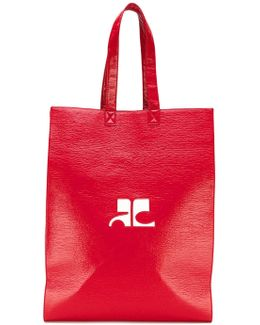 Logo Shopper Tote