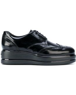 Platform Brogue Shoes