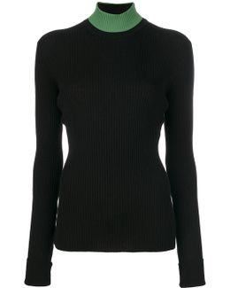 High Neck Slim-fit Jumper