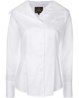 Oversized Collar Shirt
