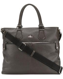 Orb Detail Shoulder Bag