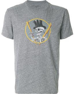 Skeleton Print T-shirt