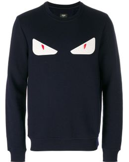 Eyes Embroidered Sweater