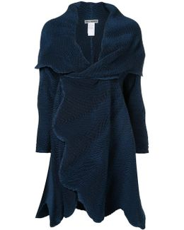 Ruched Detail Coat
