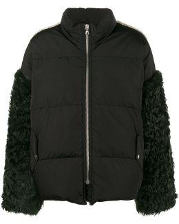 Eldridge Feather Sleeve Coat