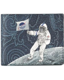 Astronaut Print Wallet