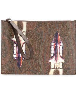 Rocket Clutch Bag