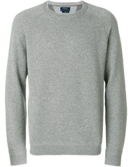 Ribbed Trim Sweatshirt