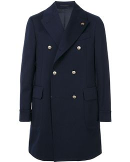 Tailored Double-breasted Coat