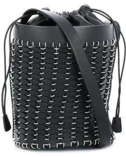 Metal Hoops Bucket Bag