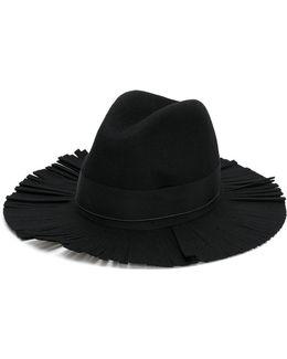 Frayed Brim Hat