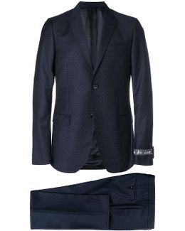Micro Dotted Suit Jacket