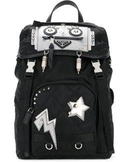 Robot Nylon Backpack