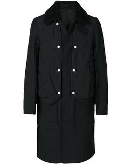Sheepskin Collar Coat