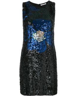 Sequin Embellished Tank Dress