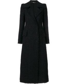 Tweed Tailored Coat