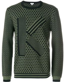 Jumper With All-over Print