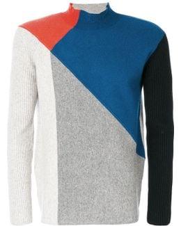 Colour Contrast Sweater