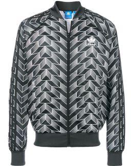 Patterned Zipped Sweater