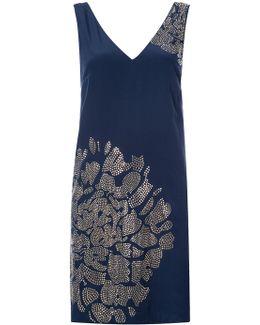 Stud Pattern Dress