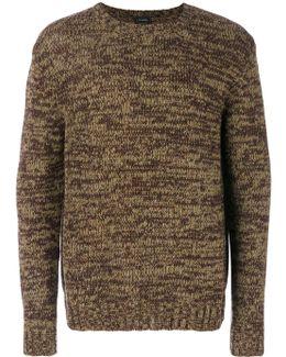 Crewneck Knit Pullover