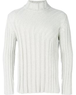 Ribbed Knit Pullover