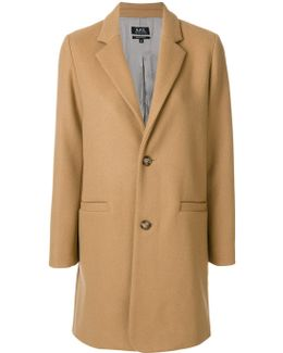Straight Button Up Coat