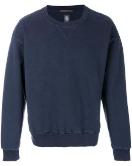 Distressed Style Sweatshirt