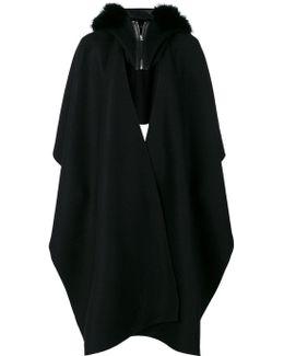 Hooded Cape Coat