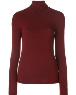 Fitted Roll Neck Top