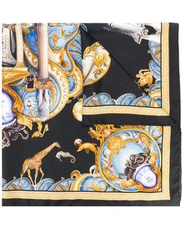 Triptych Print Scarf