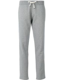 Piped Track Pants