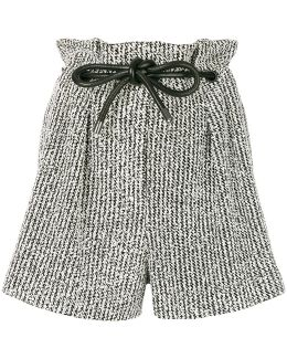 Origami Pleat Shorts