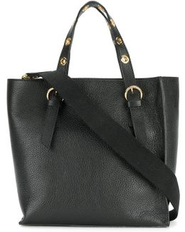 Structured Square Tote Bag