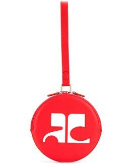 Circle Logo Clutch