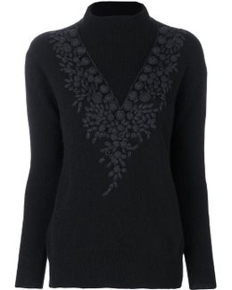 Embroidered Detail Jumper
