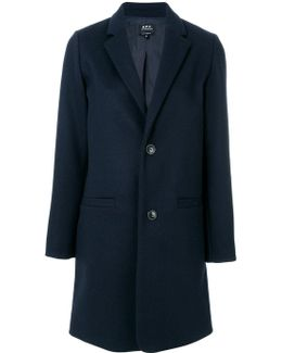 Fitted Buttoned-up Coat