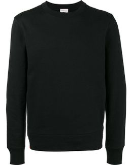 Sweatshirt With Logo On Arm And Contrasting Side Panels