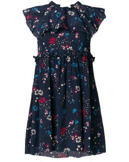 Babydoll Plastron Dress