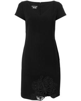 Embroidered Hem Dress