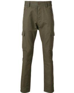 Drop Crotch Skinny Jeans