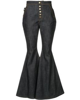 Ophelia Wide Leg Flare Jeans