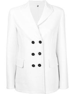 Double Breasted Fitted Coat