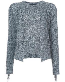 Fringe Knit Sweater