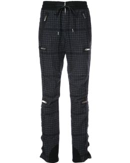 Houndstooth Bondage Trousers