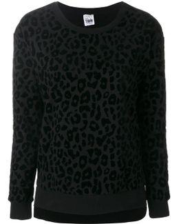 Leopard Print Sweatshirt
