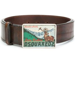 Canadian Country Buckle Belt