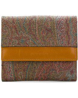 Small Paisley Wallet