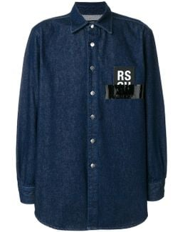Denim Shirt With Logo
